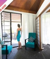 Darwin: One-, Two-, or Three-Night Top-End Resort Escape for Two People with Late Check-Out at Palms City Resort
