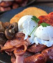 All-Day Breakfast or Lunch + Coffee or Soft Drink: 1 ($10), 2 ($20) or 4 People ($40) at Copper Cafe (Up to $80 Value)