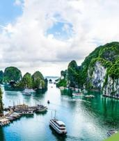 Vietnam: From $939 Per Person for a 14-Day Getaway with Cruise, Sightseeing, Domestic Flight and Transfers