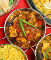 Four-Course Indian Feast for Two ($39) of Four People ($65) at MK's Indian Restaurant (Up to $200 Value)