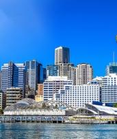 Sydney, Darling Harbour: 1-Night Deluxe Suite Stay for Two People with Late Checkout at Seasons Darling Harbour Sydney