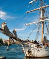 $119 for 2.5-Hr Sydney Harbour Tall Ships Adventure with Mast Climb, Laser Clay Shooting and Lunch (Up to $149 Value)