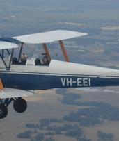 $149 for 15-Minute Tiger Moth Biplane Flight with Hunter Valley Vintage Wings (Up to $240 Value)