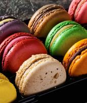 Sweet French Macarons from Renowned Bankstown Patisserie: Two Dozen Macarons for $22, Five Dozen for $53, or 10 Dozen for Only $105. Available to be Picked Up or Delivered! (Valued Up To $300)