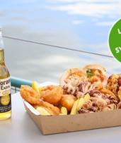 Choice of Seafood Platter for Two People at Salty Squid (Up to $94.50 Value)