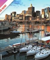 Darling Harbour: Escape for Two with Breakfast, Wine and Late Check-Out at Novotel Sydney Darling Square