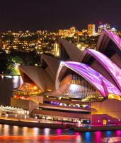 2 or 2.5-Hour Vivid Festival Harbour Cruise with Canapes and Choice of Wine, Sparkling Wine or Soft Drink on Arrival: $49 for an Adult or $44 for a Child (Valued Up To $110)