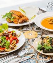 Vibrant Vietnamese Food and Drinks