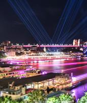 See the Sights and Lights this Vivid Festival with a 90-Minute Weekend Harbour Cruise Including Two Drinks per Person, Just $30 (Value $89)