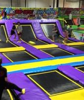 Trampoline Pass: One ($8) or Two Hours ($15) at Awezone Trampoline Park (Up to $22 Value)