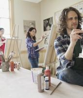 Social Painting Class for One ($29) or Two ($55) at A Painters Dream (Up to $110 Value)