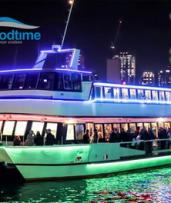 90-Min Vivid Cruise with Buffet + Drinks: Mon-Thu (From $25) or Fri-Sun ($38) with Good Time Cruises (Up to $89 Value)