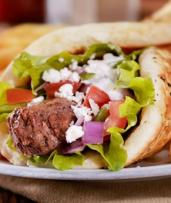 Afghan Kebab Wrap or Burger + Chips & Drink: One ($12), Two ($23) or Four People ($45) at Bamyan Hotel (Up to $68 Value)