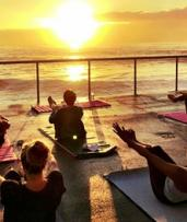 Five-Class Yoga Pass: Manly/Freshwater Locations ($25) or All Six Locations ($35) with Yoga By the Sea (Up to $95 Value)
