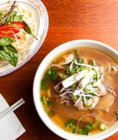 Beef or Chicken Pho for One ($8), Two ($15) or Four People ($29) at Aunty Ut Restaurant (Up to $50 Value)