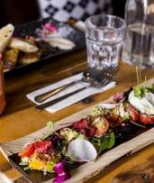 Breakfast with Coffee for One ($13), Two ($25), Three ($36) or Four People ($47) at Chalkboard Cafe (Up to $100 Value)