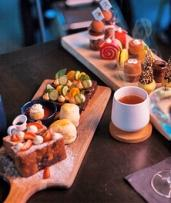 High Tea with Mocktail Each for Two ($95) or Four People ($175) at Glace Frozen Artisanal (Up to $300 Value)
