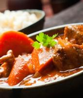 Sri Lankan Rice and Curry with Drink for One ($9) or Two People ($18) at Aminoro Cafe (Up to $29.80 Value)
