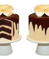 3-Layer Chocolate Mud Cake - Four ($22), Eight ($42) or Ten-Inch ($69) from The Classic Cupcake Co (Up to $150 Value)