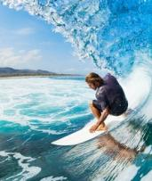 3.5-Hr Aussie Surf Lesson Pkg: 1 ($49) or 4 Ppl + Photo Pkg ($229) with Australian Surfing Adventures (Up to $500 Value)