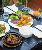 Three-Course Dinner + Drinks for Two ($49) or Four People ($98) at Andaqua Vietnamese Restaurant (Up to $193.20 Value)