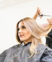Wash, Style Cut & Blow-Dry ($39) with Half Head of Foils ($89) at Babydoll Hair & Body (Up to $260 Value)