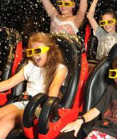 Up to 63% Off Exhilarating Cinema Simulator Ride Tickets with Gaming Tokens