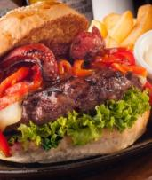Burger, Chips and Drink Each for One ($10), Two ($19) or Four People ($28) at 67 Union St Cafe (Up to $94 Value)