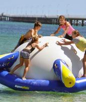 Beat the Heat with a 60-Minute Session at an Inflatable Water Park and Save up to 53%
