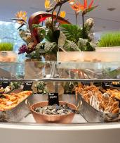 Save $59 on an Award-Winning All-You-Can-Eat Seafood Buffet for Two Overlooking Hyde Park