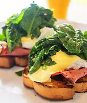 Eat Socially with a Gourmet Breakfast and Coffee or Orange Juice From $10 in Oakden!