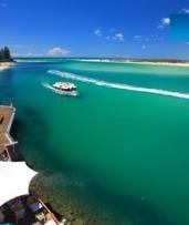 90-Minute Smoothwater Classic Cruise for Child ($5), Adult ($15) or Family ($40) from Caloundra Cruise (Up to $60 Value)