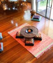 Currumbin Valley, Queensland: Romantic Two-Night Stay with Organic Breakfast for Two People at Ananda Rainforest Spa