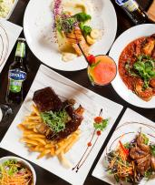 Save up to 52% on European Dining and Drinks in the Heart of Bankstown