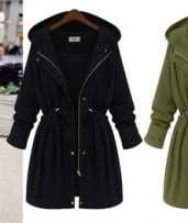 Hooded Drawstring Jackets: One ($39) or Two ($69)