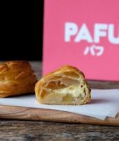 $14.28 for Box of Four Apple or Strawberry Puff Pastries at Pafu, Three Locations (Up to $16.80 Value)