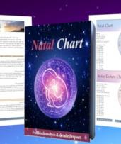 $15 for a Personalized Astrology Natal Chart, Analysis & Birthday Forecast from AstroGifts (Up to $70 Value)