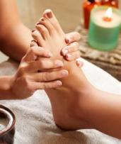 Pamper Package with Reflexology: 50 ($39) or 90 Minutes ($69) at Myotherapy and Acupuncture Clinic (Up to $135 Value)