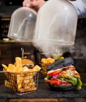Burger with Fries for One ($18) or Two People ($35) at Elements Bar and Grill (Up to $51.80 Value)