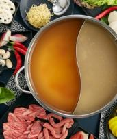 Chinese Hot Pot Feast for Two ($64) or Four People ($128) at Six Po Hot Pot (Up to $183.60 Value)
