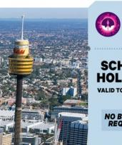 Sydney Tower Eye Entry: Child Aged 3-15 ($18) or Adult Entry ($26.10)