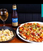 Woodfired Pizza or Pasta with Wine or Beer in Bald Hills