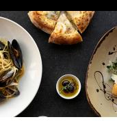 Three-Course Italian Dining with Wine in Docklands