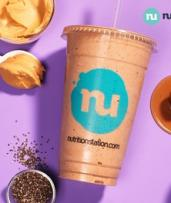 Regular Smoothie or Shake for 1 ($4.90) or 2 Ppl ($9.80) at Nutrition Station, Multiple Locations (Up to $19.90 Value)
