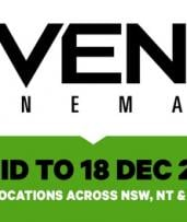 Event Cinemas: GA Ticket for $13.50, Multiple Locations across NSW, QLD and NT