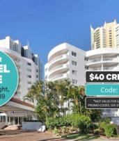 Surfers Paradise: 2-, 3- or 5-Night Queensland Getaway for Two with Parking at Alpha Hotel Sovereign Gold Coast
