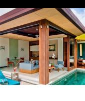 Private Pool Villa Serenity with Daily Massages and Cocktails