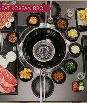 AYCE BBQ with Desserts and Drinks for 2 ($69), 4 ($138) or 8 Ppl ($276) at K-Town Korean BBQ House (Up to $596 Value)