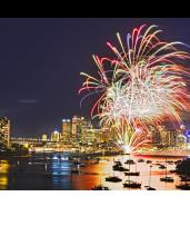 Spectacular NYE Harbour Cruise with Free-Flowing Drinks & Dining