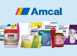 Amcal.com - $1 Shipping (Don't pay $7.50) - No Min Spend